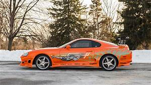 2001 Toyota Supra 'The Fast and the Furious' Wallpapers ...