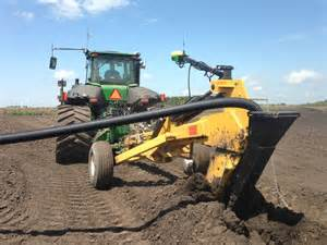 2016 soil max gold digger stealth pull type tile plow