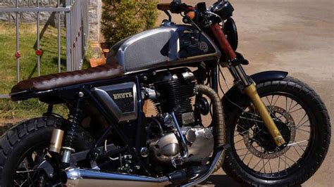 Modification Royal Enfield Continental Gt by This Modified Royal Enfield Continental Gt Is A True Brute