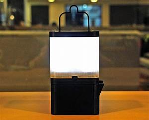 This portable salt powered lamp stays illuminated for 8 for This salt powered lamp stays illuminated for 8 hours on a glass of seawater