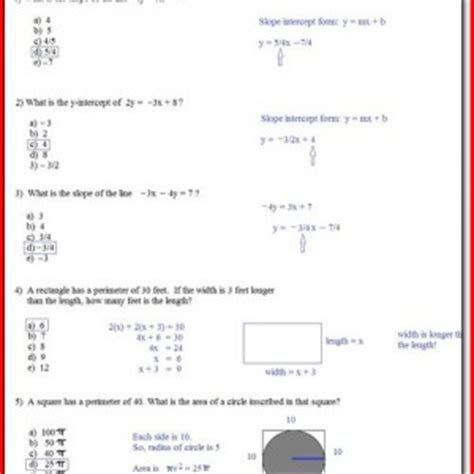 Sat Math Worksheets  Free Printable Sat Math Practice Worksheets Educational Algebra Functions