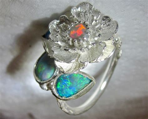 Opel Rings by Opal Ring For Sale Silver Ring Guaranteed With