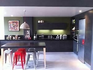 Modele De Cuisine Moderne : cuisine moderne de style industriel mod le arp ge ~ Melissatoandfro.com Idées de Décoration
