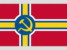 My take on a flag for a fictional Union of Scandinavian