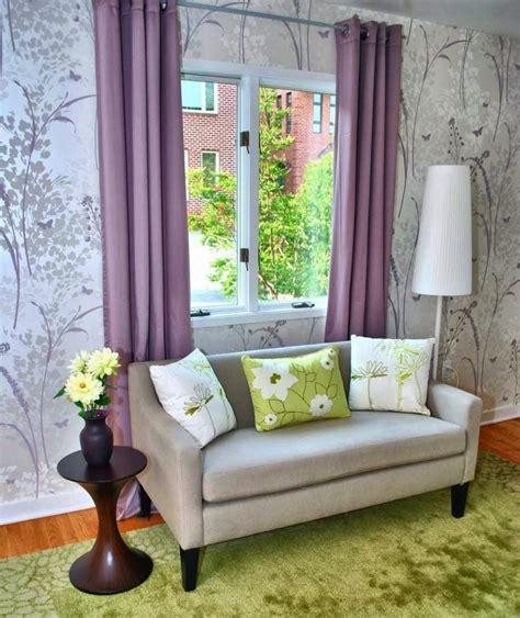 wallpaper dinding ruang tamu terbaru  desain rumah