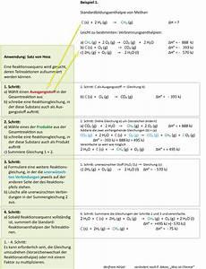 Chemie N Berechnen : 8 6 satz von hess teil ii ~ Themetempest.com Abrechnung