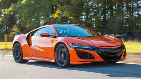 2019 acura nsxs 2019 acura nsx drive one foot out of the shadows