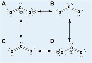 Solved: 1. Which Of The Four Resonance Structures For Ozon ...