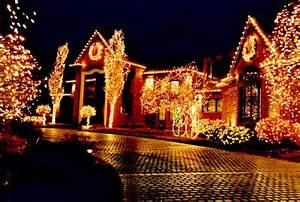 Residential Outdoor Christmas Light Display
