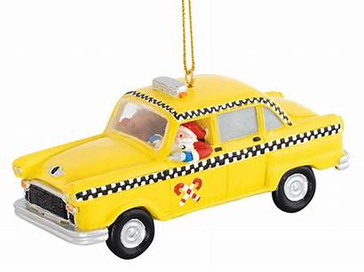 Claus Santa Christmas Cab Yellow