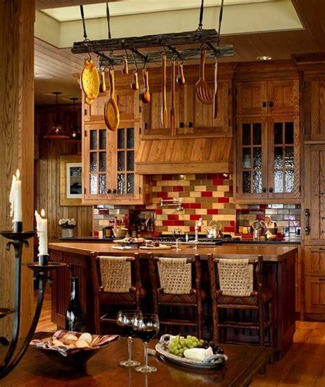 cuisine moderne bois massif maison rustique au charme authentique cagnard en