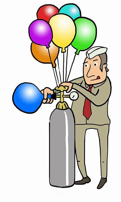 Density Clipart Science Helium Gas Balloons Physical