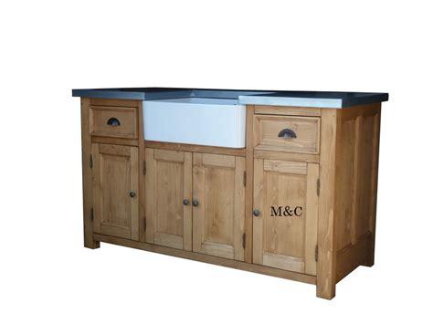 meubles de cuisine en pin grand meuble evier de cuisine dessus zinc
