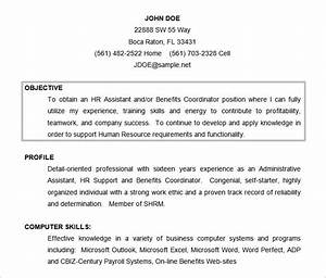 Resume Objectives – 46 Free Sample Example Format