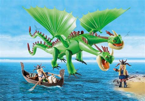 playmobil dragons dragon  tetes grossiste distributeur