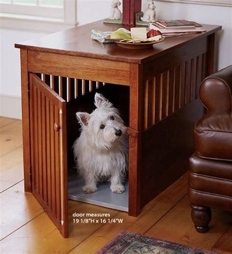 wooden dog house furniture