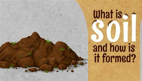 what is soil and how is it formed geography mocomi