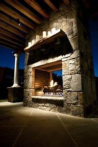 Bigger Version Of The Outdoor Fireplace We Have Picked Out