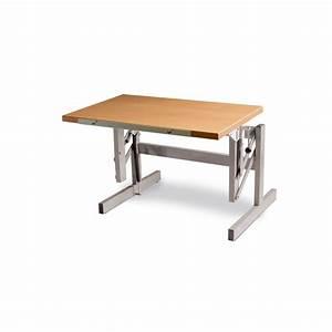 Bauanleitung Höhenverstellbarer Tisch : h henverstellbarer sitz steh tisch ergo s 52 tischh he 52 ~ Markanthonyermac.com Haus und Dekorationen