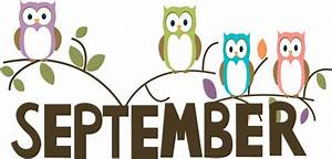 Free Month Clip Art | September Owls Clip Art Image - the ...