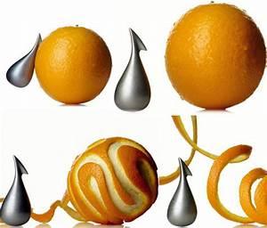 Alessi Modern Apostrophe (') Citrus/Orange Peeler NOVA68