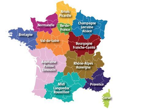 Nouvelle Carte De Par Region by Info Nouvelles Regions Voyages Cartes