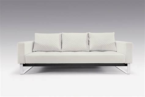 Full Size Sofa Beds by Cassius Deluxe Sofa Bed Full Size White Leather Textile