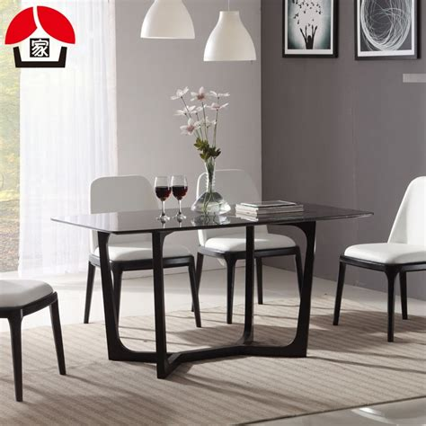 wood marble nordic model room dinette combination ikea small apartment minimalist modern