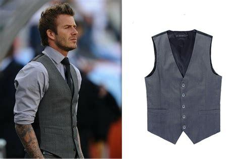Men's V Neck Fashion Slim Vest Coat Waist Coat