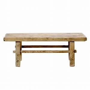 Table Basse Bois Brut : table basse en bois ancien brut bloomingville ~ Melissatoandfro.com Idées de Décoration
