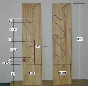 Wooden Ladder Quilt Rack Plans Rachael Edwards