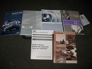 2010 Ford F150 Owners Manual W   Case  U0026 Supplements