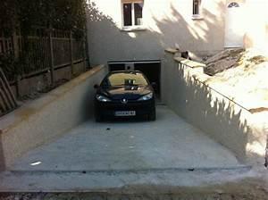 faire une descente de garage en beton comment faire le With comment faire une descente de garage en beton