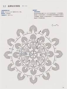 Crochet Flower Doily With Diagram  U22c6 Crochet Kingdom