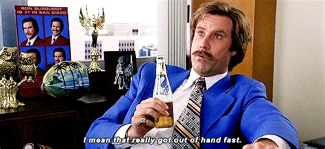 Anchorman I L Meaning by Will Ferrell Gif Find On Giphy