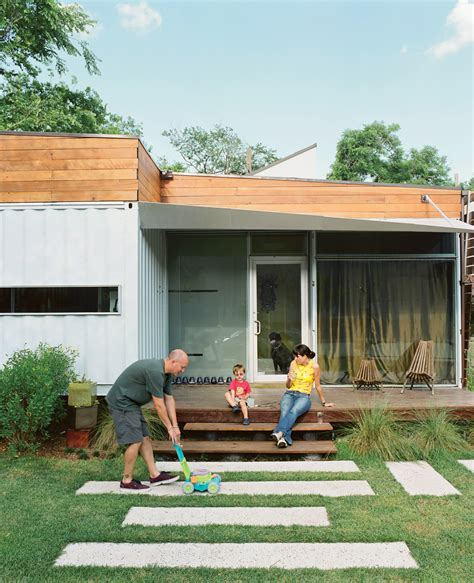 shipping container house dwell boxes family home in a shipping container can you make it work Hightree
