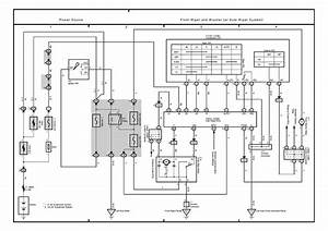 Lexus Rx300 Wiring Power Schematic