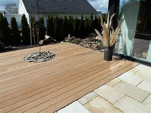 Terrasse holz und stein kombiniert for Stein holz terrasse