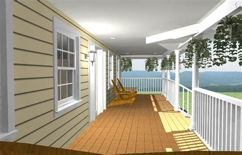 cost of building front porch porch addition simply additions