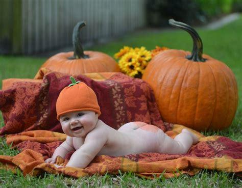 baby butt painted  pumpkin  pinterest uploads