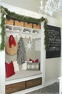 Christmas Entryway on Pinterest