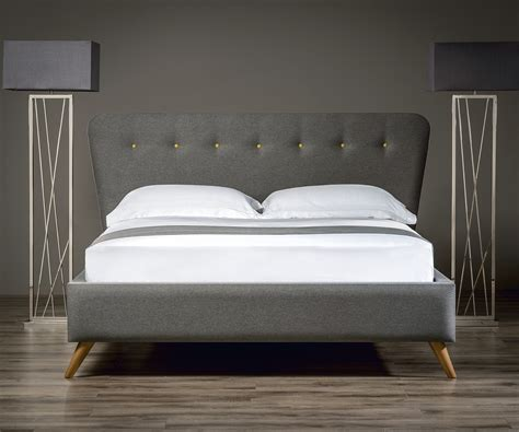 bed for retro upholstered bed upholstered beds from sueno