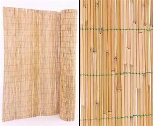 Holzstämme Geschält Kaufen : schilfmatten mit 180x600cm als terrassen sichtschutz kaufen ~ Orissabook.com Haus und Dekorationen