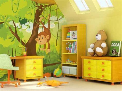 déco jungle chambre bébé décoration chambre enfant sur les thèmes de safari et jungle