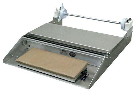 A Mini Table Top Wrapper 115v, 26″l X 15″w X