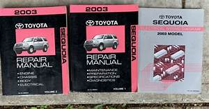 2003 Sequoia Repair Manual Volume 1 And 2 And Electrical