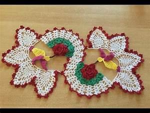 Set De Table Au Crochet : tuto chemin de table colibri au crochet 1 2 youtube ~ Melissatoandfro.com Idées de Décoration