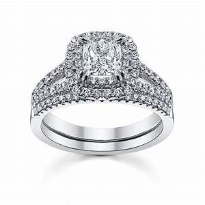 Cupid39s engagement ring pick for valentine39s day eight for Cushion cut engagement rings with wedding band
