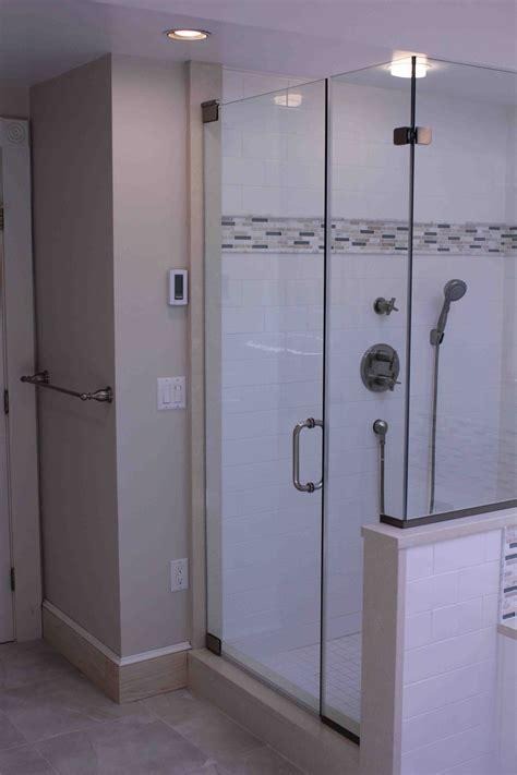 basco shower door installing custom shower glass enclosure a concord carpenter