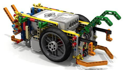 Lego Mindstorms Ev3 Fll Robot Using Driving Rings